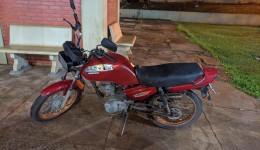 Guarda Municipal apreende motociclista com numeração motor adulterada comprada pelas redes sociais