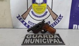 Guarda Municipal apreende adolescentes com pistola Artesanal