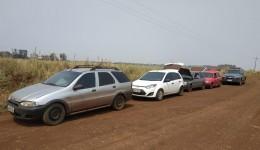 Quatro veículos foram apreendidos pelo DOF com mercadorias do Paraguai na região de Maracaju