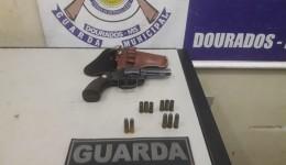 Guarda Municipal prende condutor embriagado armado com revólver