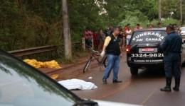 Motorista bêbado atropela e mata adolescente de 15 anos