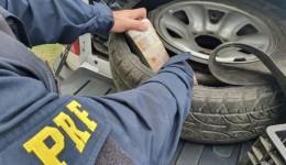 Casal com carro de MS é preso no Rio com R$ 700 mil escondidos no estepe