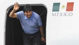 Com asilo garantido, Evo Moralez diz que México salvou sua vida