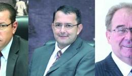 Justiça autoriza Idenor, Pepa e Cirilo estarem juntos na Câmara