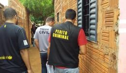 Acusado de matar mulher a golpes de faca e marteladas é preso