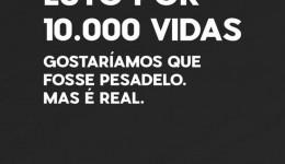 Coronavírus mata 10 mil brasileiros em 53 dias