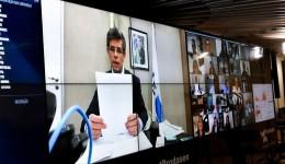Ministro da Saúde elogia ações de MS, descarta relaxar isolamento e prevê mais testes