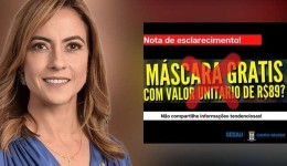 Senadora silencia sobre fake news de assessora com salário de R$ 13 mil