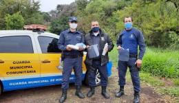 Guarda Municipal recebe materiais de proteção individuais doados pelo Ministério da Justiça e Segurança Pública