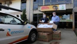Geraldo entrega EPI's, cartilhas e equipamentos hospitalares para Dourados