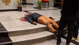 Noite sangrenta: homem atira em ex-mulher, crianças e se mata em igreja