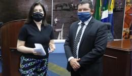Olavo Sul solicita a Simone Tebet patrulha mecanizada para estradas rurais e não-pavimentadas