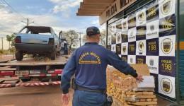 PMR apreende 238kg de droga em Dourados