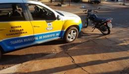 Motocicleta furtada é recuperada na Vila Rosa