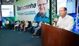 Barbosinha é aclamado pré-candidato a prefeito