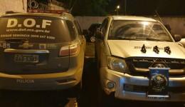 Confronto entre bandidos e policiais deixa 3 mortos