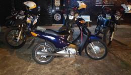 Guarda Municipal de Dourados recupera motocicleta furtada após menor mentir que era de sua tia