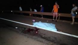 Mulher morre e outra fica ferida em acidente na BR-163