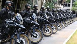 3º Batalhão recebe motocicletas para patrulhamento em Dourados