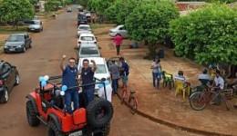Alan lança campanha à prefeitura percorrendo bairros em Dourados
