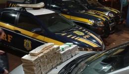 Carga de cocaína avaliada em R$ 6 mi é apreendia em Dourados