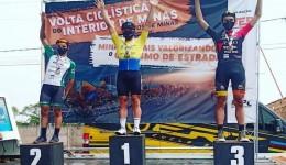 Ciclista de Chapadão do Sul é campeão geral em competição realizada em MG