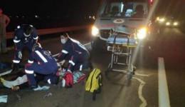 Mulher que sobreviveu ao acidente de moto tem perna amputada em Dourados