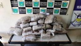 Polícia Militar apreende menor com mala cheia de maconha e café em Dourados