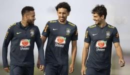 Seleção Brasileira trabalha para confronto contra o Peru