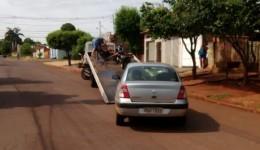 Agetran localiza carro roubado em Dourados