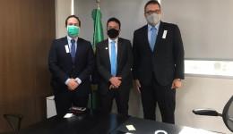 Em Brasília, Alan Guedes busca investimentos no MEC e Bancada Federal