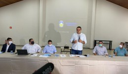 Alan apresenta relatório, fala em 'desafio grande' e reforma administrativa para Dourados