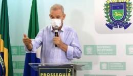 """""""O Governo faz a sua parte, mas a população precisa cooperar"""", diz Geraldo"""