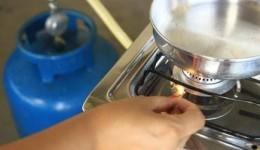 Pesquisa do preço do gás de cozinha