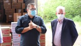 Dourados recebe EPIs e medicamentos da Secretaria de Estado de Saúde