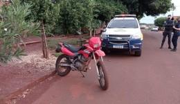 Guarda Municipal recupera motocicleta furtada