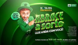 Nota MS Premiada teve 374 ganhadores; oito acertaram as seis dezenas e receberão R$ 12,5 mil