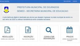 Prefeitura abre nesta quarta matrícula da rede municipal de Educação