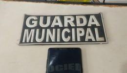 Guarda Municipal recupera aparelho celular