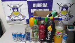 GM encerra festinha clandestina com menores ingerido bebida alcoólica
