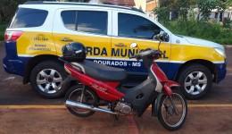 Adolescente furta motoneta e termina apreendido pela Guarda Municipal