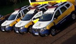 Guarda Municipal recebe novas viaturas para patrulhamento