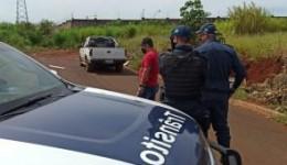 Homem é assassinado com vários tiros de pistola dentro de caminhonete em Dourados
