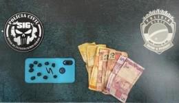 Polícia Civil prende em flagrante indivíduo por tráfico de drogas
