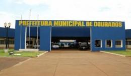 Prefeitura de Dourados tem porta arrombada durante a madrugada