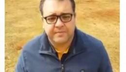 Em vídeo, Alan Guedes recomenda que as pessoas fiquem em casa