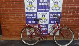 Guarda Municipal recupera bicicleta furtada