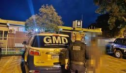 Homem com diversas passagens criminais é preso pela GMD