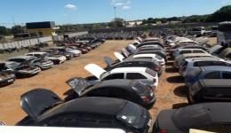 Pátio Zero: Detran-MS realiza leilões com veículos para circulação e desmontagem em Dourados