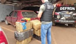 Polícia Civil apreende 300kg de maconha e prende dois suspeitos em Dourados